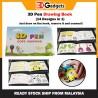 3D Pen Copy Paste Drawing Arts & Crafts Book for Kids