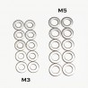 Stainless Steel M3 Flat Washer - 10pcs