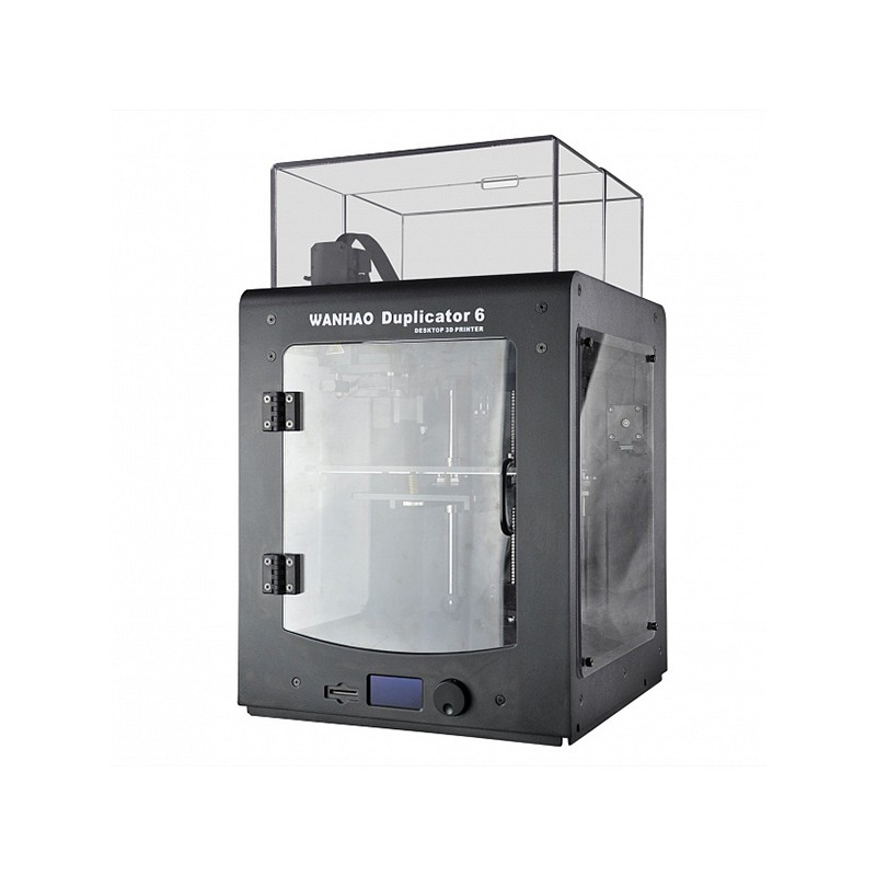 Wanhao Duplicator 6 with Acrylic Enclosure 3D Printer