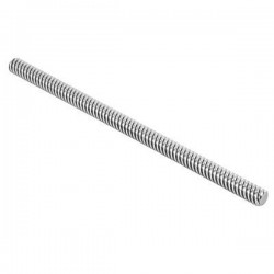 Trapezoidal Screw & Brass Nut - 500mm , 8mm Lead 2mm Pitch
