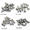 Stainless Steel M5 Hexagonal Socket Screw - 10 pcs