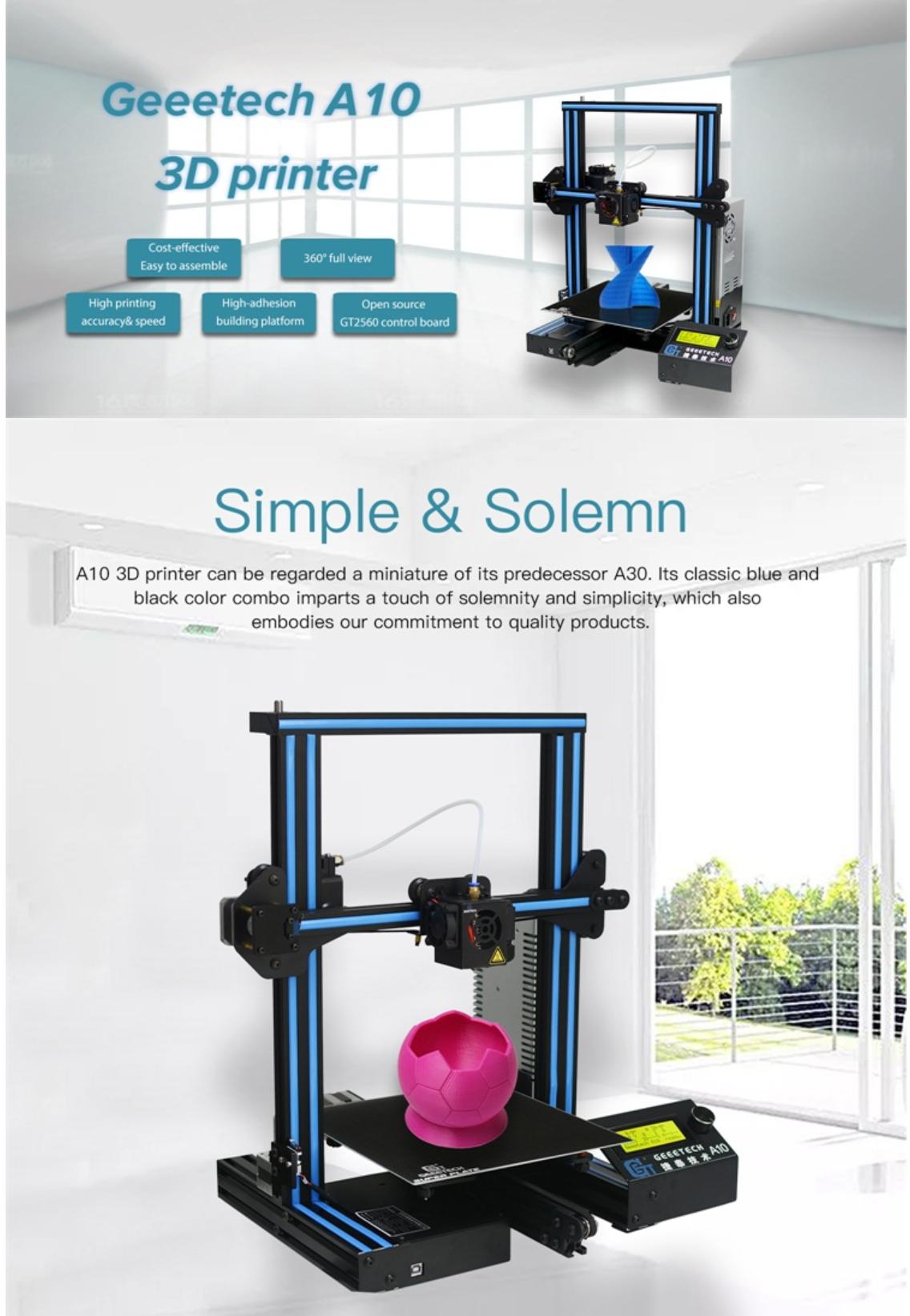 Geeetech A10 3D Printer