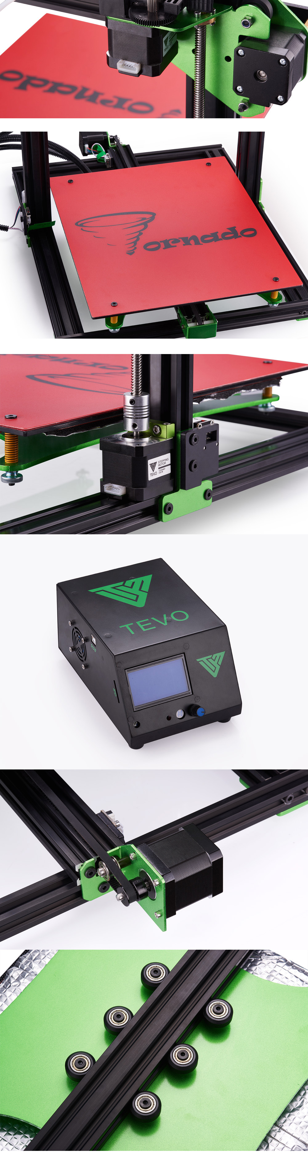 TEVO Tornado Semi DIY 3D Printer